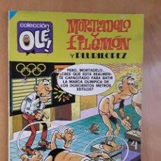 Tebeos: BRUGUERA COLECCIÓN OLE - EDICIÓN DE 1982 - MORTADELO Y FILEMON - Nª 149. Lote 102076479