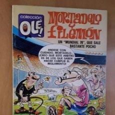 Tebeos: BRUGUERA COLECCIÓN OLE - EDICIÓN DE NOVIEMBRE DE 1985 - MORTADELO Y FILEMON - Nª 195. Lote 102076711
