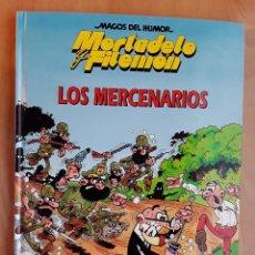 Tebeos: MAGOS DEL HUMOR - MORTADELO Y FILEMON - LOS MERCENARIOS. Lote 102127679
