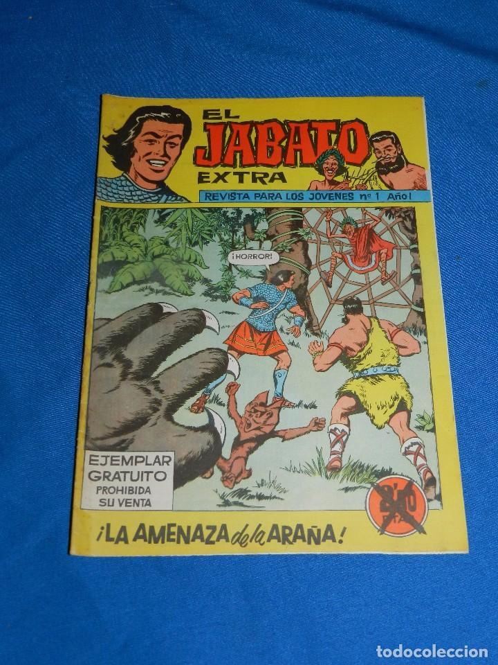 (M3) EL JABATO EXTRA NUM 1 - EDT BRUGUERA - BUEN ESTADO (Tebeos y Comics - Bruguera - Jabato)