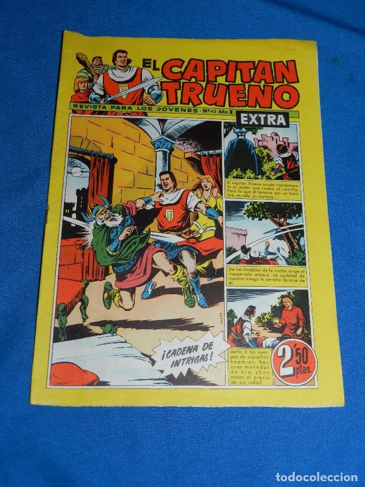 (M22) EL CAPITAN TRUENO EXTRA NUM 42 - EDT BRUGUERA , BUEN ESTADO (Tebeos y Comics - Bruguera - Capitán Trueno)