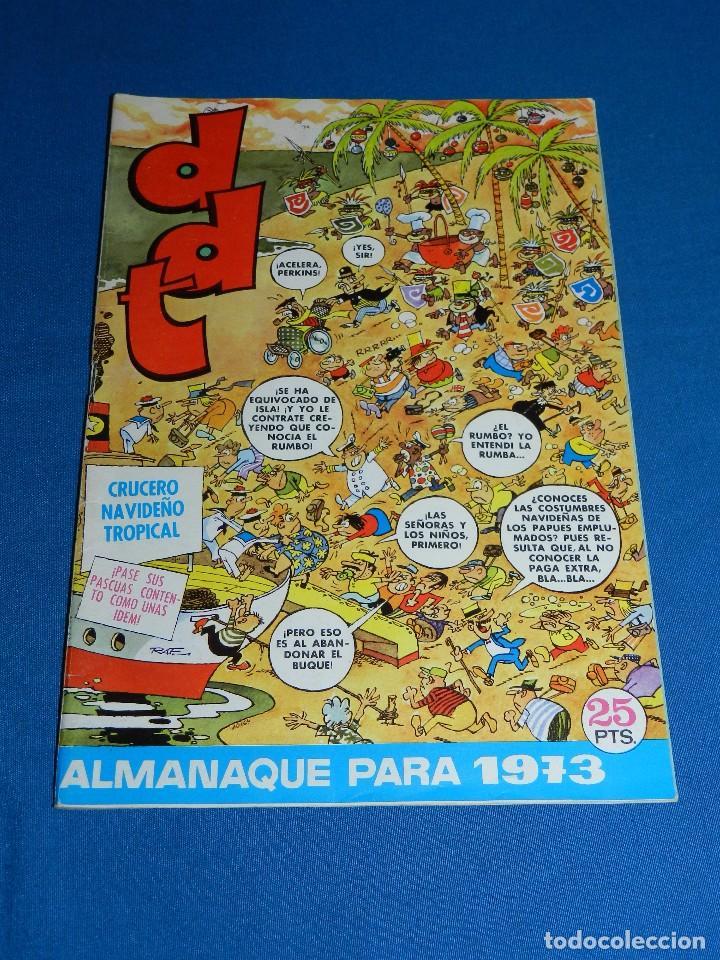 (M6) DDT - ALMANAQUE 1973 , EDT BRUGUERA , POCAS SEÑALES DE USO (Tebeos y Comics - Bruguera - DDT)