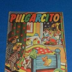 Tebeos: (M9) PULGARCITO ALMANAQUE 1956 - EDT BRUGUERA , BARCELONA - SEÑALES DE USO. Lote 102358647