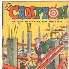 Tebeos: EL CAMPEÓN DE LAS HISTORIETAS ORIGINAL Nº 3 CON EL JABATO - SIN CIRCULAR. Lote 102380163