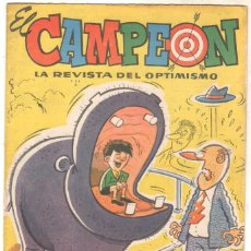 Tebeos: EL CAMPEÓN DE LAS HISTORIETAS ORIGINAL Nº 4 SIN CIRCULAR - CON EL JABATO. Lote 102381811