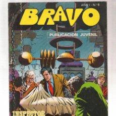Tebeos: BRAVO. Nº 6. INSPECTOR DAN. Nº 3. BRUGUERA. (Z/C2). Lote 102540047