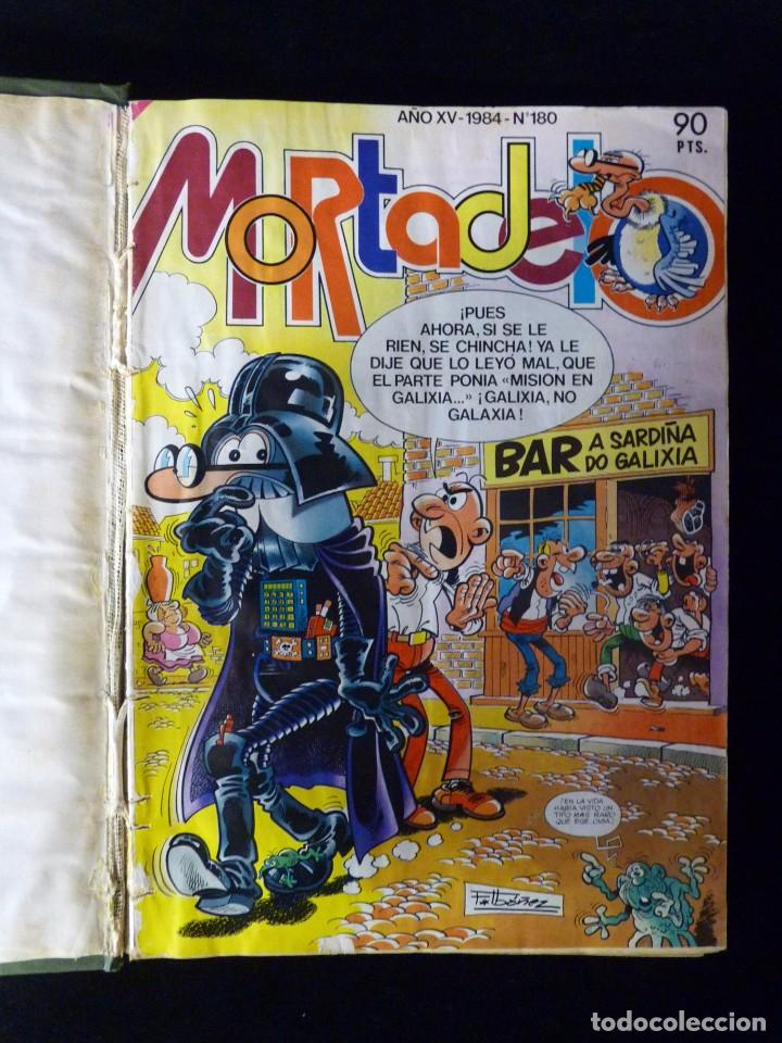 SUPER MORTADELO, BRUGUERA 1984. 12 NÚMEROS ENCUADERNADOS EN 1 VOLUMEN (Tebeos y Comics - Bruguera - Mortadelo)
