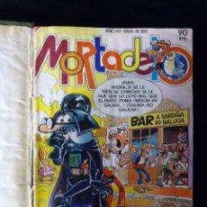 Tebeos: SUPER MORTADELO, BRUGUERA 1984. 12 NÚMEROS ENCUADERNADOS EN 1 VOLUMEN. Lote 102570835