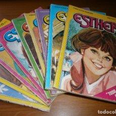 Tebeos: LOTE 9 ESTHER Y SU MUNDO POCKET - Nº 1,2,3,6,13,15,17,18,20 - EDT. BRUGUERA, 1982.. Lote 102594635