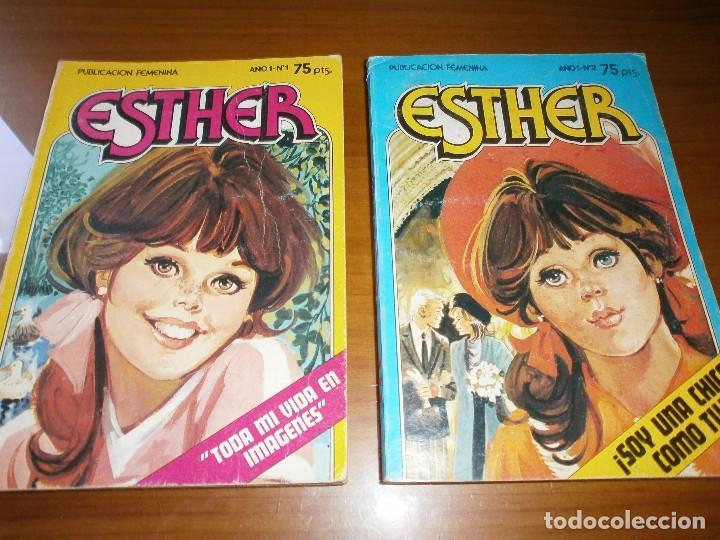 Tebeos: LOTE 9 ESTHER Y SU MUNDO POCKET - Nº 1,2,3,6,13,15,17,18,20 - EDT. BRUGUERA, 1982. - Foto 2 - 102594635