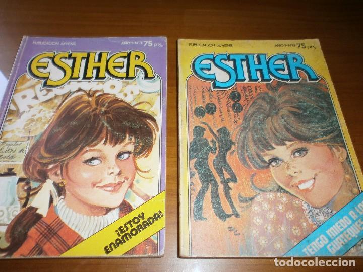 Tebeos: LOTE 9 ESTHER Y SU MUNDO POCKET - Nº 1,2,3,6,13,15,17,18,20 - EDT. BRUGUERA, 1982. - Foto 3 - 102594635