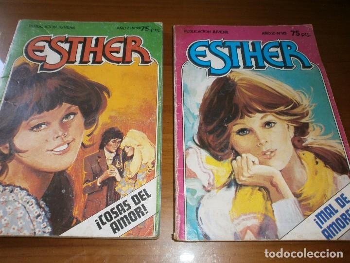 Tebeos: LOTE 9 ESTHER Y SU MUNDO POCKET - Nº 1,2,3,6,13,15,17,18,20 - EDT. BRUGUERA, 1982. - Foto 4 - 102594635
