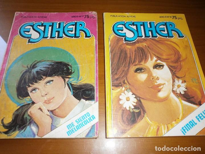 Tebeos: LOTE 9 ESTHER Y SU MUNDO POCKET - Nº 1,2,3,6,13,15,17,18,20 - EDT. BRUGUERA, 1982. - Foto 5 - 102594635