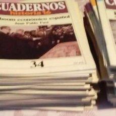 Tebeos: OFERTA CUADERNOS HISTORIA 16 DEL 1-100- ELIGE. Lote 103399790