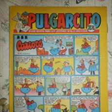 Tebeos: TEBEO - COMIC - PULGARCITO - AÑO XXXVIII - Nº 1458 - BRUGUERA - EL CAPITAN TRUENO . Lote 102716487