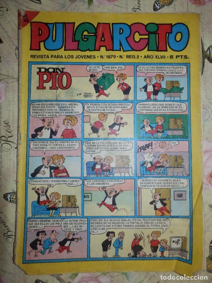 TEBEO - COMIC - PULGARCITO - AÑO XLVII - Nº 1879 - BRUGUERA (Tebeos y Comics - Bruguera - Pulgarcito)