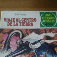 Tebeos: JOYAS LITERARIAS. VIAJE AL CENTRO DE LA TIERRA. N.- 21. Lote 102930338
