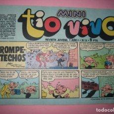 Tebeos: TEBEO - COMIC - MINI TIO VIVO - AÑO I - Nº 5 - EDITORIAL BRUGUERA - AÑO 1975 - PERFECTO ESTADO - VER. Lote 102935991