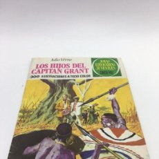 Tebeos: JOYAS LITERARIAS JUVENILES Nº 9 LOS HIJOS DEL CAPITAN GRANT DE JULIO VERNE. Lote 102980339