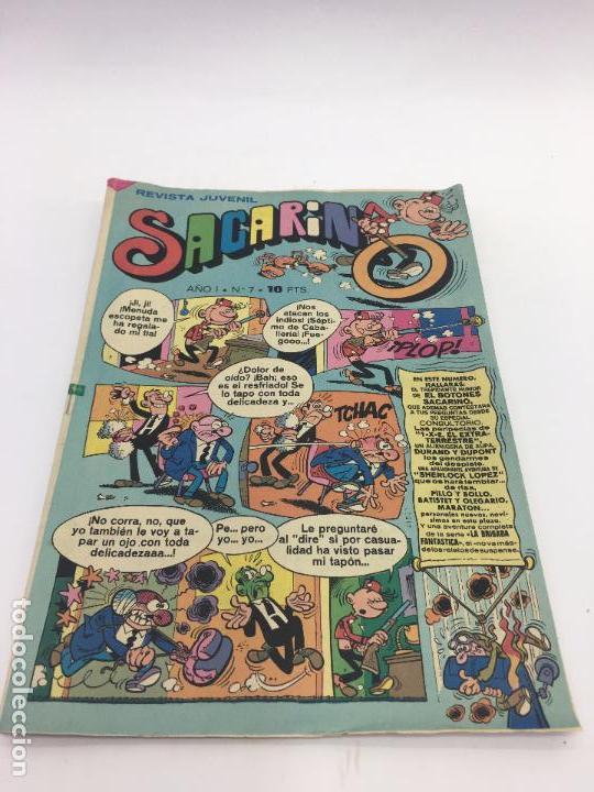 SACARINO AÑO I - Nº7 - 1975 (Tebeos y Comics - Bruguera - Otros)