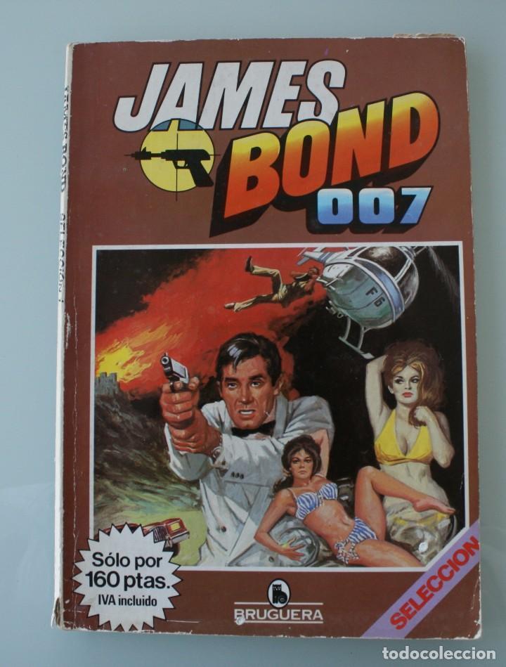 PUBLICACION COMIC JAMES BOND 007 SELECCIÓN 1 – BRUGUERA – CONTIENE 3 PUBLICACIONES: Nº 1-2-3 (Tebeos y Comics - Bruguera - Otros)