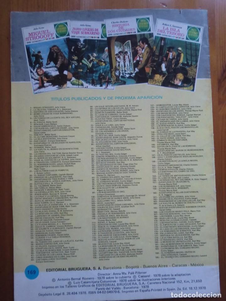 Tebeos: Cómic BAJO LAS LILAS (1978) Louise May Alcott. JOYAS LITERARIAS ILUSTRADAS Nº 169 EDITORIAL BRUGUERA - Foto 3 - 103126363