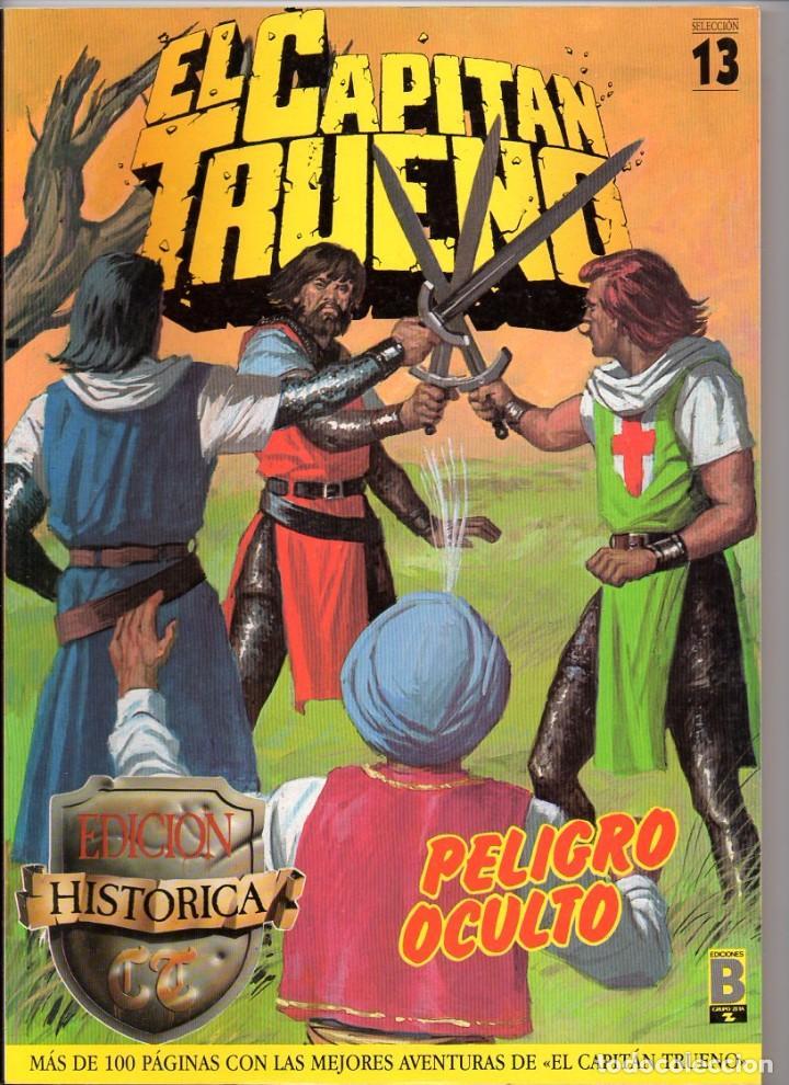 Nº 13 EL CAPITAN TRUENO. SELECCIÓN DE EDICIONES HISTORICAS. EDICIONES B 1987 (Tebeos y Comics - Bruguera - Capitán Trueno)
