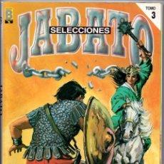 Tebeos: Nº 4 EL JABATO. SELECCIÓN DE EDICIONES HISTORICAS. EDICIONES B 1987. Lote 103144391