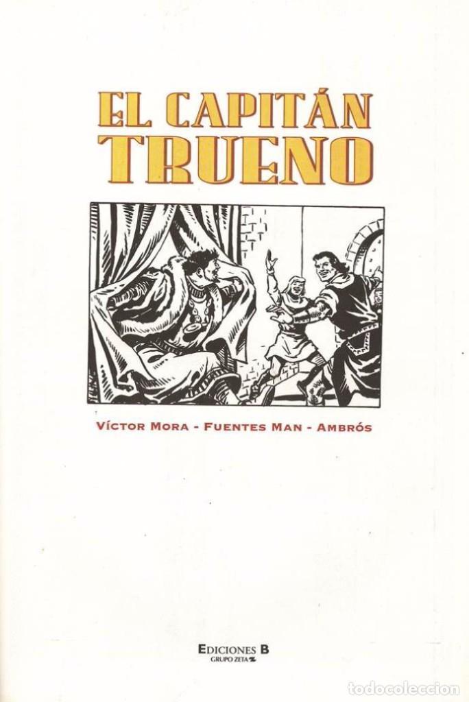 Tebeos: EL CAPITAN TRUENO - GODOFREDO EL TIRANUELO - EN PERFECTO ESTADO - TAPAS SEMIDURAS - Foto 3 - 103149411