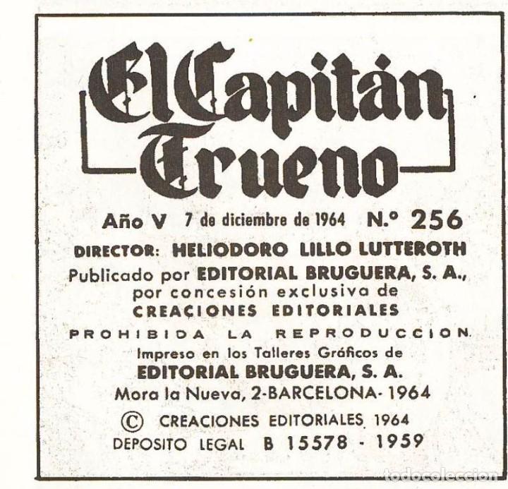 Tebeos: EL CAPITAN TRUENO - GODOFREDO EL TIRANUELO - EN PERFECTO ESTADO - TAPAS SEMIDURAS - Foto 4 - 103149411