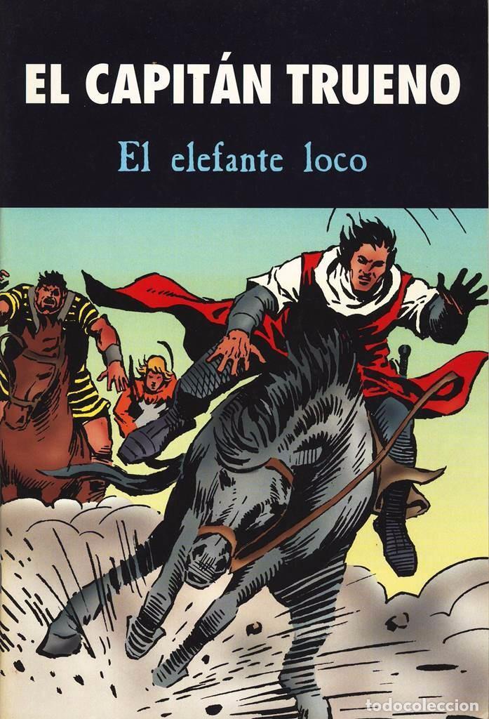 EL CAPITÁN TRUENO - EL ELEFANTE LOCO - TAPAS SEMIDURAS - EN PERFECTO ESTADO (Tebeos y Comics - Bruguera - Capitán Trueno)