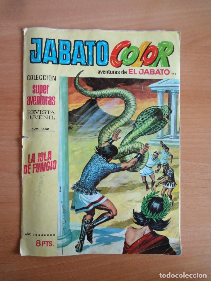 BRUGUERA. JABATO COLOR. AVENTURAS DE EL JABATO. NUM. 141 (1A EPOCA, 1972) (Tebeos y Comics - Bruguera - Jabato)