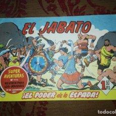 Tebeos: EL JABATO, ¡EL PODER DE LA ESPADA! Nº128, BRUGUERA. Lote 103441059