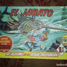 Tebeos: EL JABATO, ¡EL ASESINO DE LAS AGUAS PROFUNDAS! Nº66, BRUGUERA. Lote 103441391