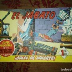 Tebeos: EL JABATO, ¡GOLPE DE MUERTE! Nº146, BRUGUERA. Lote 103448351