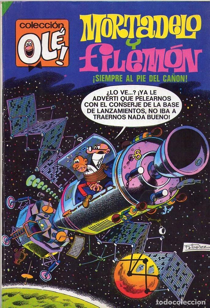 MORTADELO Y FILEMÓN ¡ SIEMPRE AL PIE DEL CAÑON ! COLECCIÓN OLÉ NÚMERO 96 (Tebeos y Comics - Bruguera - Ole)