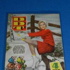 Tebeos: (M6) DDT ALMANAQUE 1959 , EDT BRUGUERA , POCAS SEÑALES DE USO. Lote 103568643