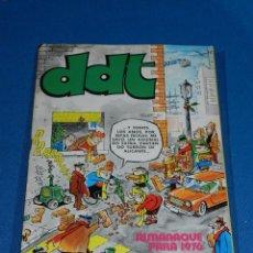 Tebeos: (M6) DDT ALMANAQUE 1976 , EDT BRUGUERA , SEÑALES DE USO. Lote 103569487