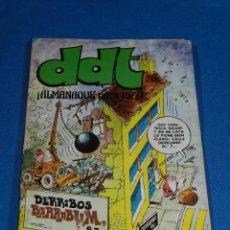 Tebeos: (M6) DDT ALMANAQUE 1977 , EDT BRUGUERA , SEÑALES DE USO. Lote 103569571