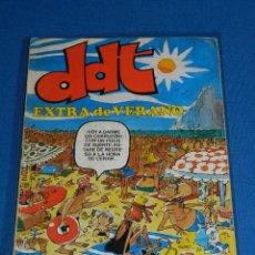 Tebeos: (M6) DDT EXTRA DE VERANO 1979 , EDT BRUGUERA, SEÑALES DE USO. Lote 103572867