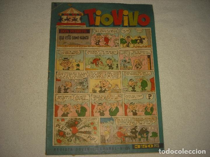 TIO VIVO, N° 185. (Tebeos y Comics - Bruguera - Tio Vivo)