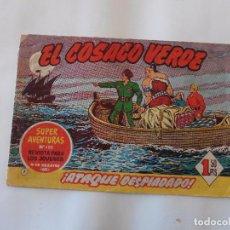 Tebeos: COSACO VERDE Nº 7 ORIGINAL. Lote 103616067