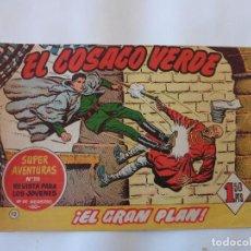 Tebeos: COSACO VERDE Nº 12 ORIGINAL. Lote 103616379