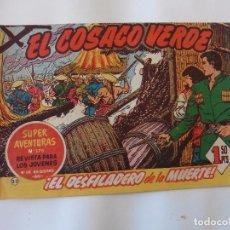 Tebeos: COSACO VERDE Nº 33 ORIGINAL. Lote 103617415