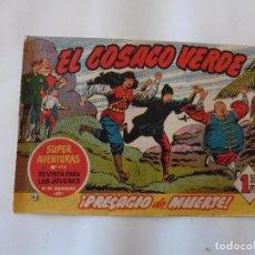 Tebeos: COSACO VERDE Nº 45 ORIGINAL. Lote 103617847