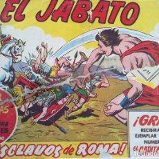 Tebeos: EL JABATO - 50 TEBEOS ORIGINALES ENCUADERNADOS (TOMO COMPLETO DEL 1 AL 50). Lote 196568370