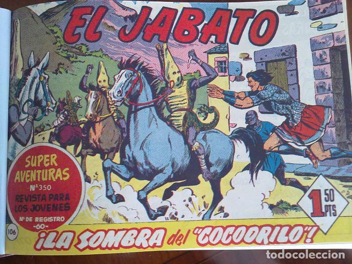 EL JABATO - 53 TEBEOS ORIGINALES APAISADOS ENCUADERNADOS - DEL 106 AL 158 (COMPLETO) (Tebeos y Comics - Bruguera - Jabato)