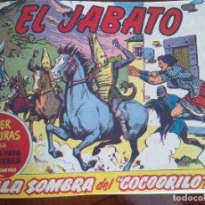 Tebeos: EL JABATO - 53 TEBEOS ORIGINALES APAISADOS ENCUADERNADOS - DEL 106 AL 158 (COMPLETO) . Lote 103872003