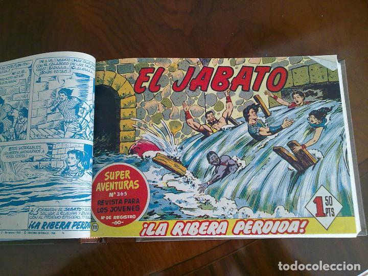 Tebeos: EL JABATO - 53 TEBEOS ORIGINALES APAISADOS ENCUADERNADOS - DEL 106 AL 158 (COMPLETO) - Foto 4 - 103872003