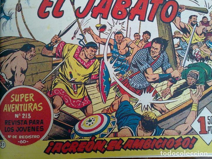 EL JABATO - 52 TEBEOS ORIGINALES APAISADOS ENCUADERNADOS (Tebeos y Comics - Bruguera - Jabato)